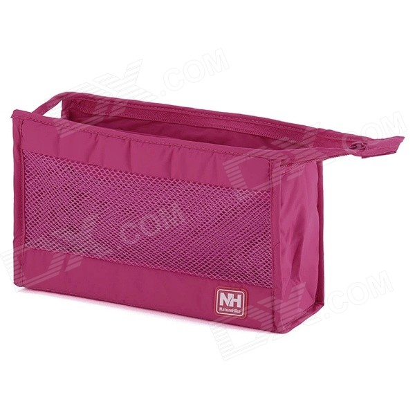 Naturehike outdoor travelling camping maquillage sac de rangement lavage - rose