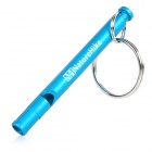 NatureHike Emergency / Survival Aluminum Alloy Whistle - Blue