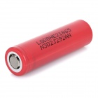 Rechargeable 3.7V / 2500mAh Li-ion 18650 Battery - Red