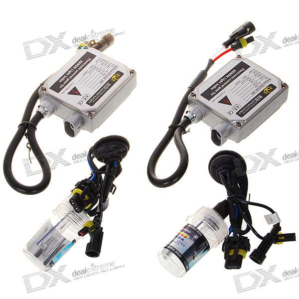 H1 8000K Super Vision Xenon HID Vehicle White Light Headlamp Kit (2-Pack)