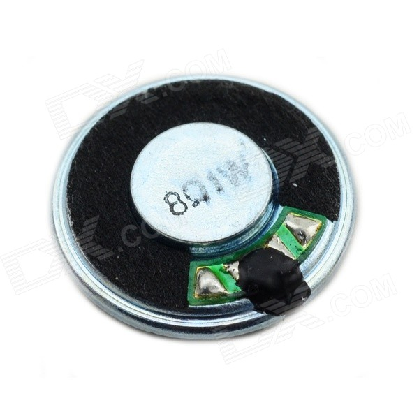 Jtron Ultrathin 1W 23mm 8ohm Speaker - BlackDIY Parts &amp; Components<br>Quantity1 DX.PCM.Model.AttributeModel.UnitForm ColorBlackMaterialPlastic+ IronEnglish Manual / SpecNoCertificationNOPacking List1 x Speaker<br>