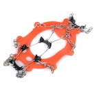 NatureHike Mountaineering Shoes Cleats Crampons - Orange (Pair)