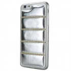 Rhinestones Decorated TPU Back Case for IPHONE 6 PLUS - Silver