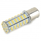 HH217 1156 4W Auto LED-Licht-Lampen-warmes Weiß 230lm SMD 3014 - White + Orange (12 V)