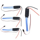 30A-OPTO Mini 2-6S Li-Po OPTO ESC Controllers for Brushless Motor Muticopter - Black + Red (4 PCS)