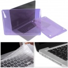 Mr.northjoe duro cristalino Case + Keyboard Cover + Anti-polvo Plug Set para RETINA MACBOOK PRO 13.3 ""