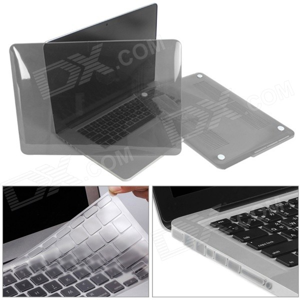 "Mr.northjoe 3-in-1 for RETINA MACBOOK PRO 13.3"" - Translucent Grey"