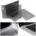 Mr.northjoe Crystal Hard Case + Keyboard Cover + Anti-dust Plug Set for RETINA MACBOOK PRO 13.3""