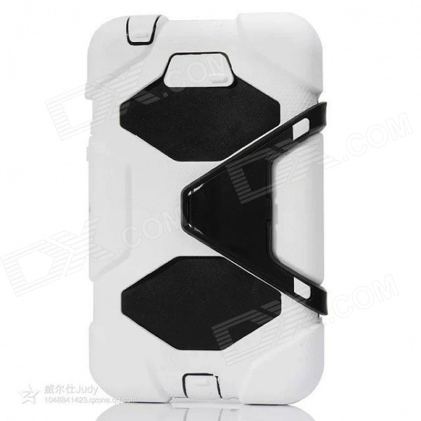 "Silicone Case w/ Stand for Galaxy Tab3 7.0"" P3200 - White"
