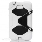 "Stylish Protective Silicone Case w/ Stand for Samsung Galaxy Tab3 7.0"" P3200 - White"