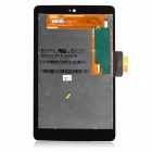 Replacement Tempered Glass LCD Touch Screen for Google Nexus 7 - Black