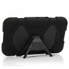 "Silicone Case w/ Stand for Galaxy Tab3 7.0"" P3200 - Black"