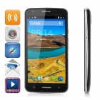 "V18 Android 4.4.2 Dual Core 3G Phone w/ 4.5"" FWVGA IPS, 1GB ROM, GPS, Dual Cam, BT, WiFi - Black"