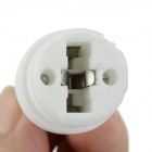 HH221 E14 to G9 Light Lamp Bulb Adapter - White + Silver