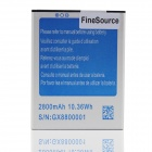 FineSource Replacement 2800mAh 3.7V Li-ion Battery for JIAKE N9100 - Blue + Silver