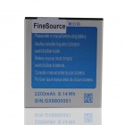 FineSource Replacement 2200mAh 3.7V Li-ion Battery for JIAKE G9006W - Blue + Silver