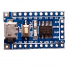 XGHF STM8S003F3P6 STM8 Micro 5P USB Core-board Development Board Module - Deep Blue