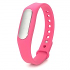 XiaoMi Bluetooth V4.0 Waterproof Smart Bracelet w/ Sleep Monitoring / Sport Tracking - Deep Pink