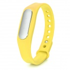 XiaoMi Bluetooth V4.0 Waterproof Smart Bracelet w/ Sleep Monitoring / Sport Tracking - Yellow