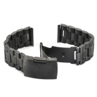 Venda de reloj de acero inoxidable para LG G reloj Smart Watch - negro