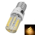 Marsing E14 8W LED Bulb Warm White Light 3500K 600lm SMD 3014 - White + Yellow (AC 220V)