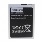 FineSource Replacement 2100mAh 3.8V Li-ion Battery for JIAKE G6 - Black + Silver