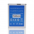FineSource Replacement 2800mAh 3.7V Li-ion Battery for JIAKE V6 - Blue + Silver