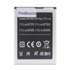 FineSource Replacement 2800mAh 3.7V Li-ion Battery for JIAKE V12  - Black + White