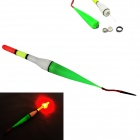 LED Luminous Fishing Float Buoy - White + Multicolored (2 x LR41)