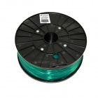 1.75mm Diameter 3D Printer PLA Wire Cable - Translucent Green (300m)