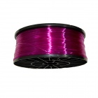 1.75mm Diameter Consumable PLA Wire Cable for 3D Printer - Translucent Purple (300m)