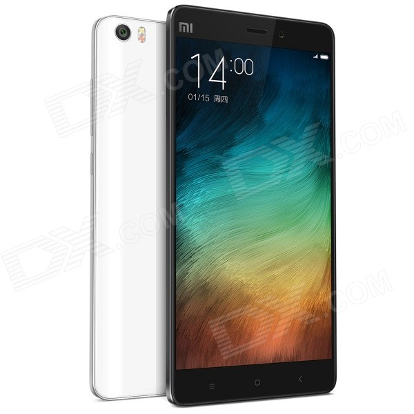 Xiaomi Note Android 4.4 Quad-Core  4G FDD-LTE Phone w/ 5.7″FHD, 3GB+16GB,13.0MP-White (Presale)