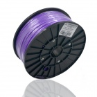 Replacement Consumable 1.75mm ABS Wire for 3D Printer - Purple (300m)