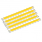 JR-LED 5W 16-COB Light Modules Warm White Light 3200K 400lm - Yellow + Silver (12~14V / 5 PCS)