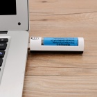BTY-824 USB 5V Powered Single Slot AA / AAA Battery Charger - White