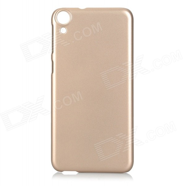 Protective Plastic Back Case for HTC Desire 820 - Champagne Golden