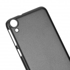 Protective Plastic Back Case for HTC Desire 820 - Black