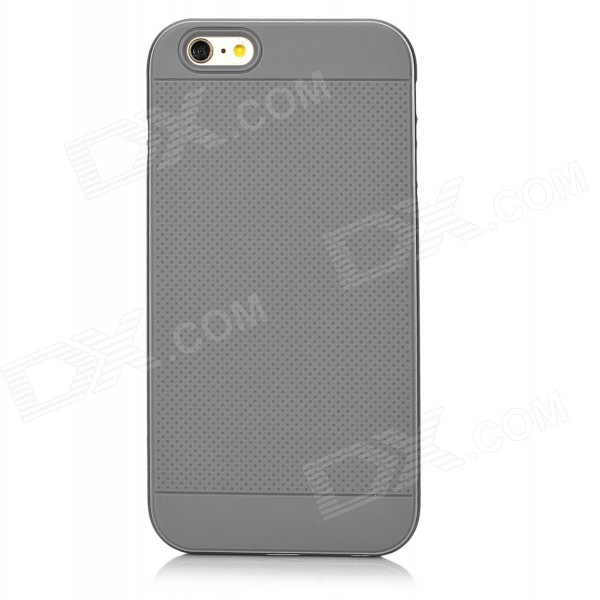 EZO Silicone + Aluminum Alloy Back Case for IPHONE 6 PLUS - Gray