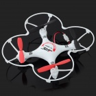 JJRC JJ-1000-1 2.4GHz 4-CH 6-Axis Radio Control R/C Helicopter w/ Gyroscope - White + Red