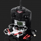 JJRC JJ-1000 2.4GHz 4-CH 6-Axis radio control r / c helicopter - rood