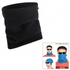 Multifunctional Outdoor Fleece Hat / Face Mask / Neck Warmer Scarf - Black