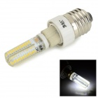 JRLED G9 6W LED lampe Cold Hvit 500lm SMD 3014 m / G9 til E27 Adapter