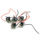 JR-LED JR-LED-MR16-9W 9W LED Power Driver for Light Lamp Bulb - Black + Red (DC 12~14V / 5 PCS)