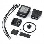 "BIKEVEE BKV-8100 20-Function 1.7"" Wireless Bike Computer - Black"