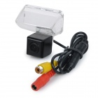 Wired HD CCD 170' Wide-Angle Car Rearview Camera for Toyota - Black