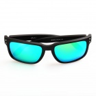 OREKA WG009 UV400 Polarized Frame Sunglasses - Black + Blue REVO