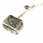 Creative The Thor Hammer Style Zinc Alloy Pendant Necklace - Silver