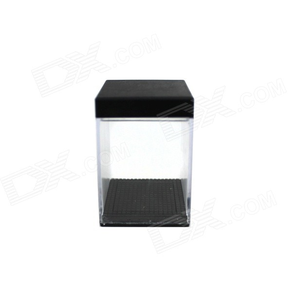Magic Prop Box Change Money - Transparent + Black