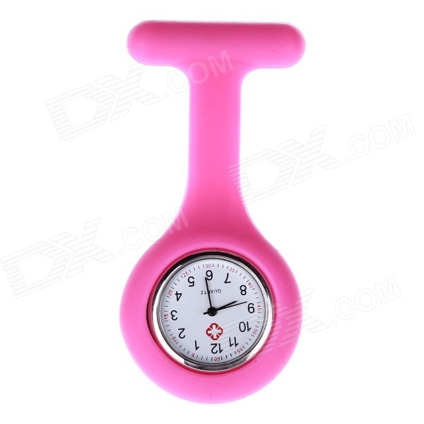 Silicone Band Quartz Analog Pocket Watch - PinkNovelty Watches<br>Form ColorDeep PinkQuantity1 DX.PCM.Model.AttributeModel.UnitCasing MaterialAlloyWristband MaterialSiliconeSuitable forAdultsGenderUnisexStylePocket WatchTypeCasual watchesDisplayAnalogBacklightNoMovementQuartzDisplay Format12 hour formatWater ResistantFor daily wear. Suitable for everyday use. Wearable while water is being splashed but not under any pressure.Dial Diameter3.3 DX.PCM.Model.AttributeModel.UnitDial Thickness0.8 DX.PCM.Model.AttributeModel.UnitWristband Length8.5 DX.PCM.Model.AttributeModel.UnitBand Width1.2 DX.PCM.Model.AttributeModel.UnitBattery377 x 1 (included)Packing List1 x Pocket watch<br>