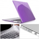 Mr.northjoe 3-in-1 Crystal Hard Case + Keyboard Cover + Anti-dust Plug for MACBOOK AIR 11.6""